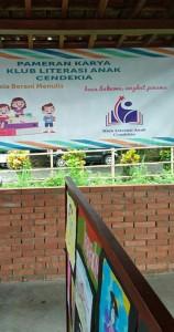 Pameran Karya Klub Literasi Anak Cendekia